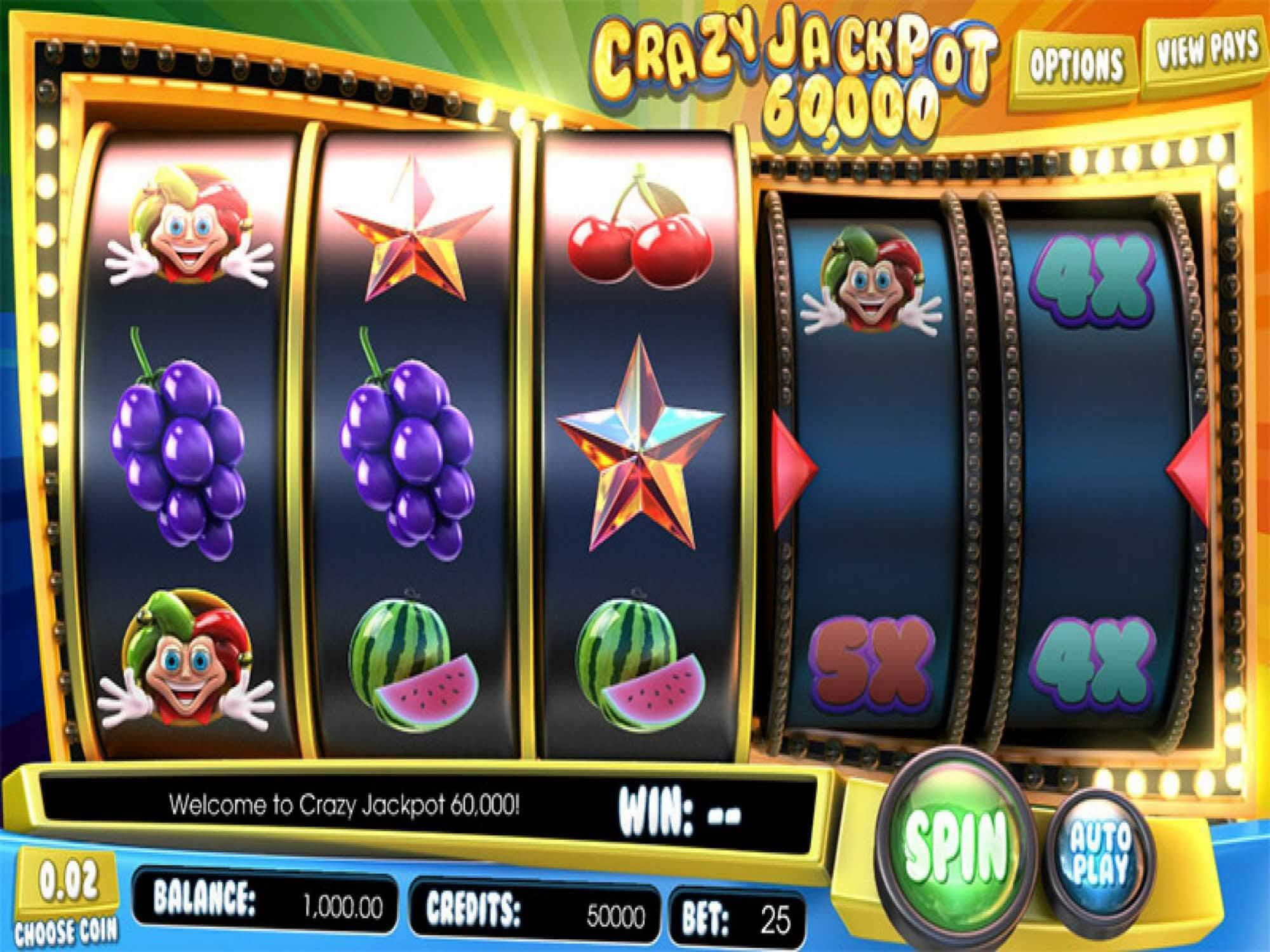 Crazy Jackpot 60000 Online Slot Review for Internet Players