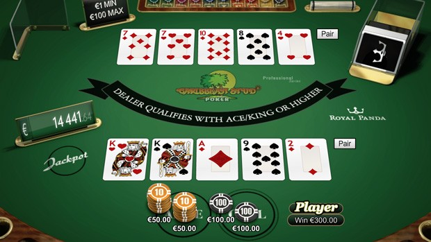 Enjoy a New Poker Variant Caribbean Stud Online
